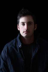 Dark male model