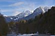 Alpengipfel bei Oberstdorf