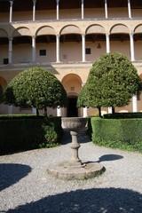 Inside Palazzo Piccolomini - Pienza - Italy