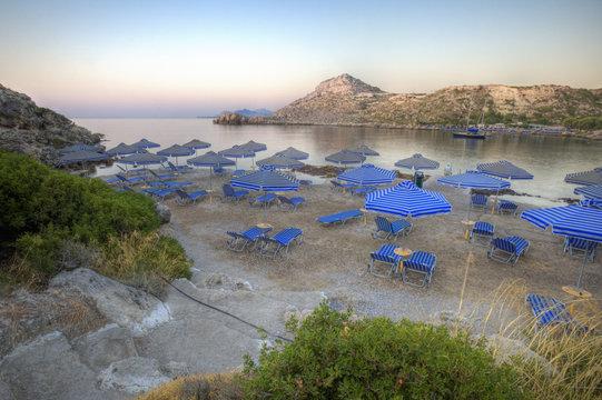 Anthony Quinn Bay na Rodos w Grecji