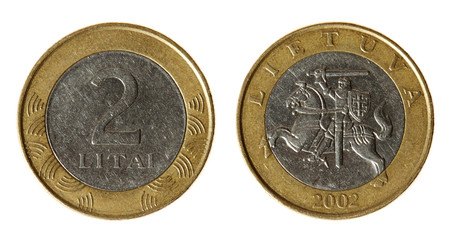 Coin Lithuania lit