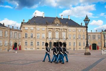 Tuinposter Scandinavië Amalienborg castle