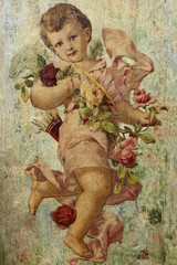 decoupage angel