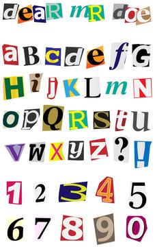 Anonymous Alphabet