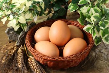 Uova nel paniere - Eggs in the basket