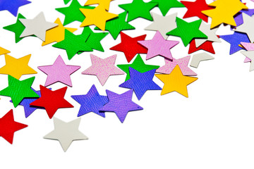 Abstract stars pattern