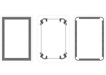 Set of  frame