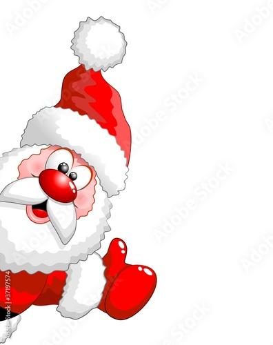 Immagini Vettoriali Natale.Babbo Natale Ok Santa Claus Immagini E Vettoriali Royalty