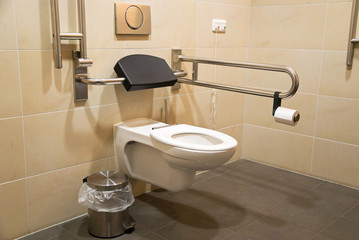 toilet for disabled people