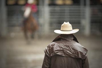 cowboy waiting