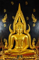 Buddha image in Thai temple, Bangkok