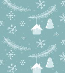 Christmas and holiday season pattern