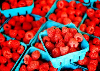 Fresh Berries on Display