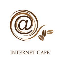 Logo Internet Cafè # Vector