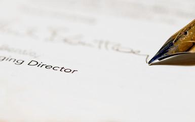 Directors signature