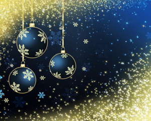 best Christmas balls background