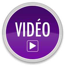 """Bouton """"Play Video"""" - violet"""