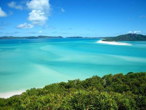 Whitsunday island, Australie