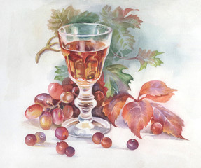 Painting Collection: Wine
