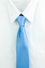 Shirt with a tie.