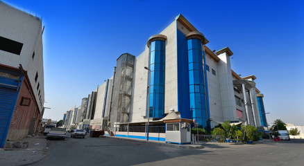 South Jeddah mall panoramic image
