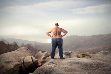 Hard way to lose weight