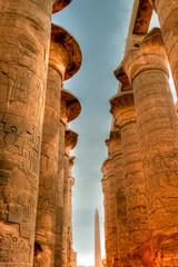 Tempio di Karnak a Luxor in HDR
