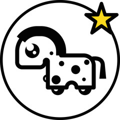 zodiac-chin-horse