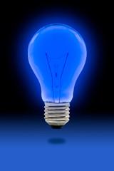 blue light blub