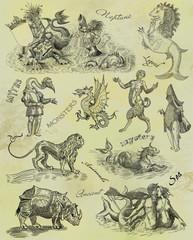 Neptune illustration