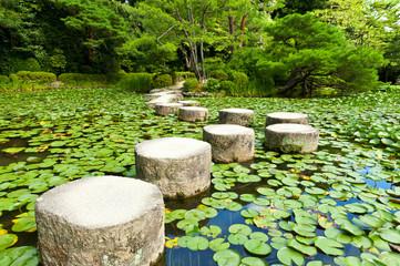 Obraz Stone zen path - fototapety do salonu
