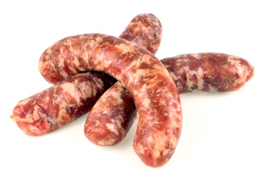 Saucisses traditionnelles crues
