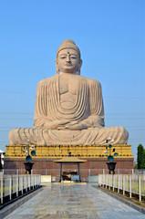 Great Buddha statue in Buddha Gaya,India