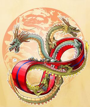 メビウスの輪と三頭の龍