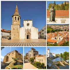 Portugal. Templar castle in Tomar