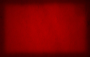 Conceptual red old paper background