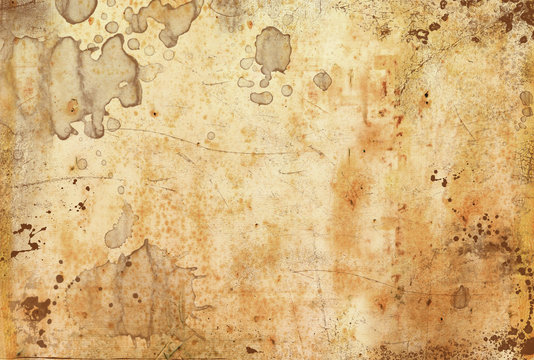carta antica macchiata