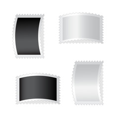 Vector deflected stamps