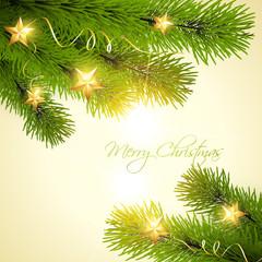christmas background tree