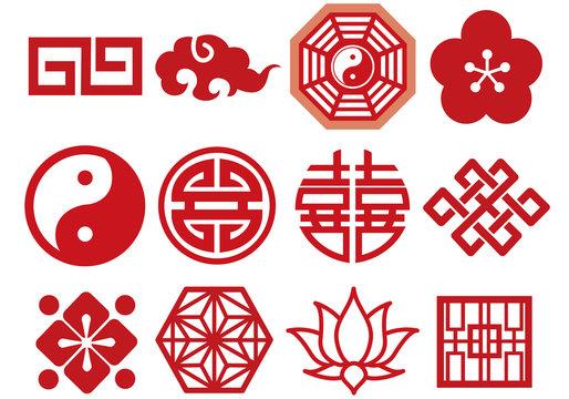 中国 アイコン    マーク