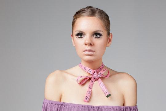 Modern beauty concepts victim