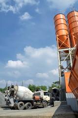 Industrial Cement  Silo Yard