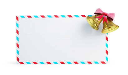 mail christmas bell