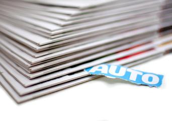 annonce automobile dans les journaux