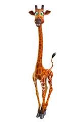 stand up giraffe