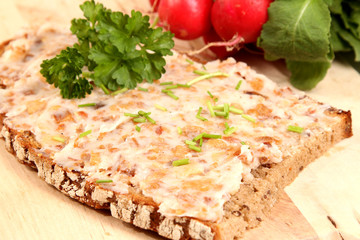 Brot mit Obazter