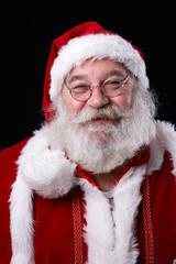 Weihnachtsmann lacht