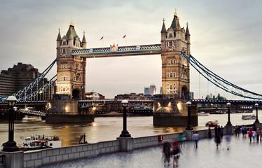 Tower Bridge at twilight