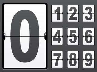 vector number of mechanical panel