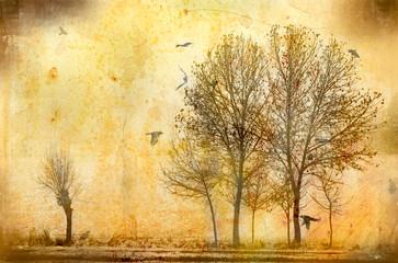 alberi vintage